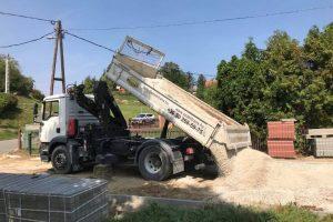 Áru szállítást végzünk, és még az építőanyagokat is beszerezzük!