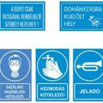 munkavédelmi feliratok