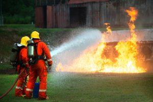 tűzoltó védőfelszerelés